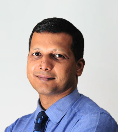 Dr Nithish M Bhandary